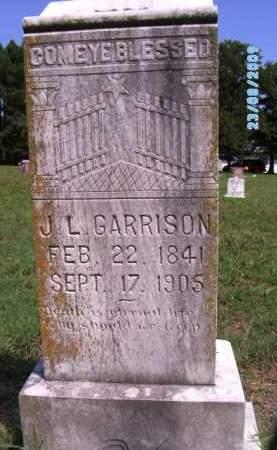 GARRISON, J. L. - Cherokee County, Oklahoma | J. L. GARRISON - Oklahoma Gravestone Photos