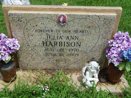 HARBISON, JULIA ANN - Cherokee County, Oklahoma | JULIA ANN HARBISON - Oklahoma Gravestone Photos