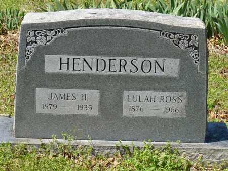 HENDERSON, JAMES H - Cherokee County, Oklahoma | JAMES H HENDERSON - Oklahoma Gravestone Photos