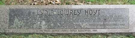 LOWREY HOYT, LYDIA - Cherokee County, Oklahoma | LYDIA LOWREY HOYT - Oklahoma Gravestone Photos