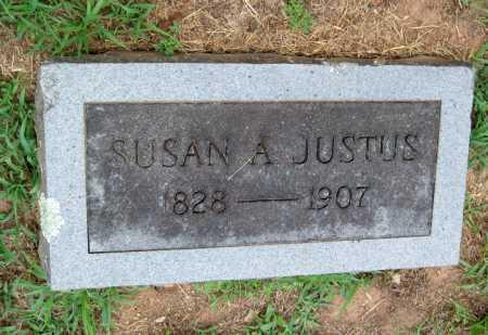 BECK JUSTUS, SUSAN ARMINTA - Cherokee County, Oklahoma   SUSAN ARMINTA BECK JUSTUS - Oklahoma Gravestone Photos