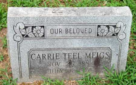 BOSWELL MEIGS, CARRIE ANN - Cherokee County, Oklahoma | CARRIE ANN BOSWELL MEIGS - Oklahoma Gravestone Photos