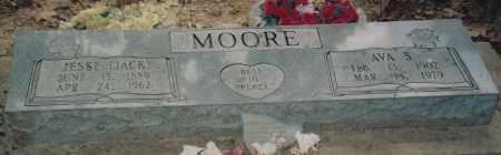 MOORE, AVA SAMANTHA - Cherokee County, Oklahoma   AVA SAMANTHA MOORE - Oklahoma Gravestone Photos