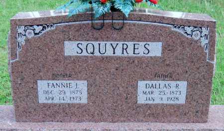 SQUYERS, FANNIE ISABEL - Cherokee County, Oklahoma | FANNIE ISABEL SQUYERS - Oklahoma Gravestone Photos