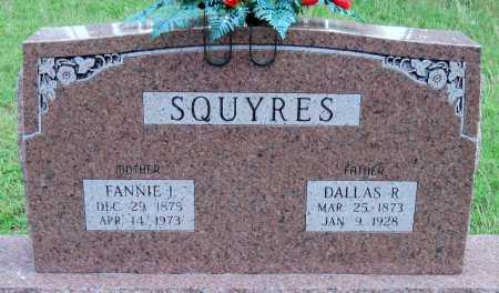 LONDON SQUYERS, FANNIE ISABEL - Cherokee County, Oklahoma | FANNIE ISABEL LONDON SQUYERS - Oklahoma Gravestone Photos