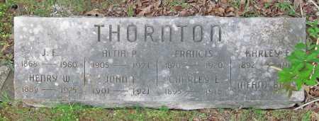 THORNTON, ALTIA P - Cherokee County, Oklahoma | ALTIA P THORNTON - Oklahoma Gravestone Photos