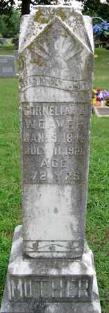 WEAVER, CORNELIA A - Cherokee County, Oklahoma   CORNELIA A WEAVER - Oklahoma Gravestone Photos