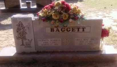 BAGGETT, ERILE MAE (BILL) - Choctaw County, Oklahoma | ERILE MAE (BILL) BAGGETT - Oklahoma Gravestone Photos