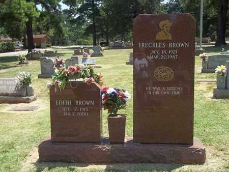 BROWN, EDITH - Choctaw County, Oklahoma | EDITH BROWN - Oklahoma Gravestone Photos