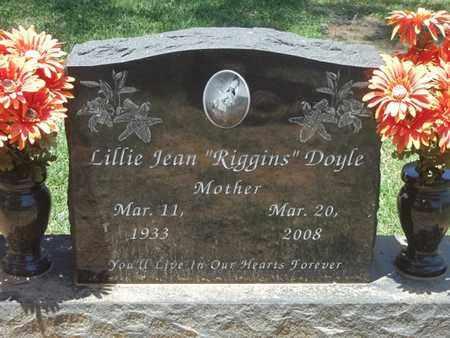 "DOYLE, LILLIE JEAN ""RIGGINS"" - Choctaw County, Oklahoma | LILLIE JEAN ""RIGGINS"" DOYLE - Oklahoma Gravestone Photos"
