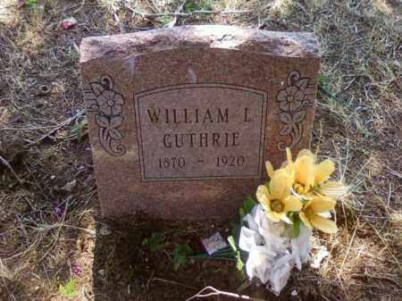 GUTHRIE, WILLIAM L - Choctaw County, Oklahoma | WILLIAM L GUTHRIE - Oklahoma Gravestone Photos