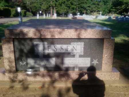 CONROY JESSEN, LORRAINE - Choctaw County, Oklahoma   LORRAINE CONROY JESSEN - Oklahoma Gravestone Photos