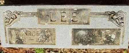 LEE, AMANDA JANE VINEYARD - Choctaw County, Oklahoma | AMANDA JANE VINEYARD LEE - Oklahoma Gravestone Photos