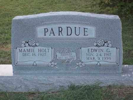 PARDUE, EDWIN G - Choctaw County, Oklahoma | EDWIN G PARDUE - Oklahoma Gravestone Photos