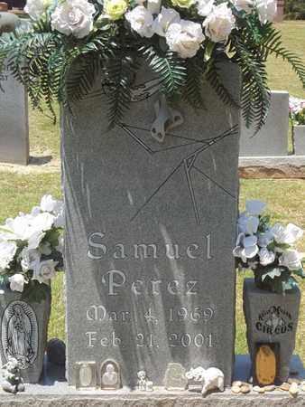 PEREZ, SAMUEL - Choctaw County, Oklahoma | SAMUEL PEREZ - Oklahoma Gravestone Photos