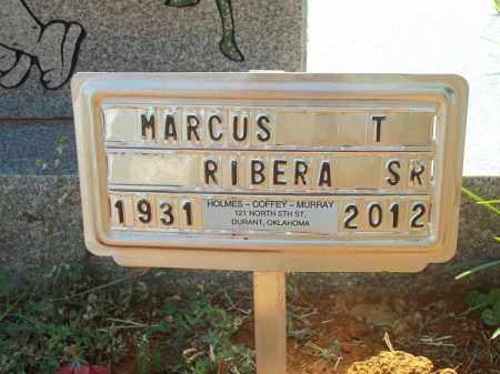 RIBERA SR, MARCUS T - Choctaw County, Oklahoma | MARCUS T RIBERA SR - Oklahoma Gravestone Photos