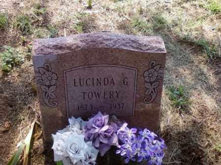 TOWERY, LUCINDA - Choctaw County, Oklahoma   LUCINDA TOWERY - Oklahoma Gravestone Photos