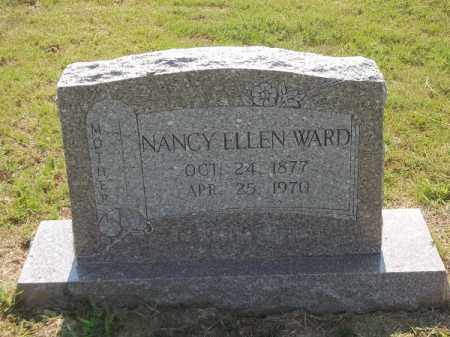 GUTHRIE WARD, NANCY ELLEN - Choctaw County, Oklahoma   NANCY ELLEN GUTHRIE WARD - Oklahoma Gravestone Photos