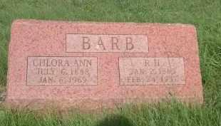 BARB, P.H. - Cleveland County, Oklahoma | P.H. BARB - Oklahoma Gravestone Photos
