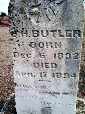 BUTLER, J - Cleveland County, Oklahoma   J BUTLER - Oklahoma Gravestone Photos
