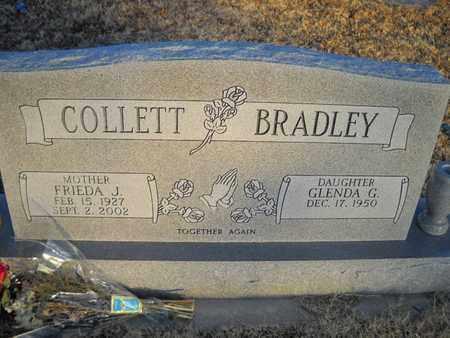 COLLETT, FRIEDA - Cleveland County, Oklahoma   FRIEDA COLLETT - Oklahoma Gravestone Photos