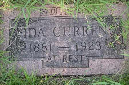 CURREN, IDA - Cleveland County, Oklahoma | IDA CURREN - Oklahoma Gravestone Photos