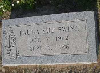 EWING, PAULA SUE - Cleveland County, Oklahoma   PAULA SUE EWING - Oklahoma Gravestone Photos
