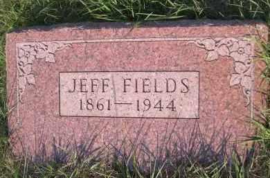 FIELDS, JEFF - Cleveland County, Oklahoma | JEFF FIELDS - Oklahoma Gravestone Photos