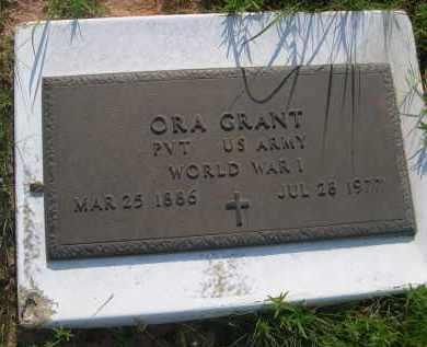 GRANT, ORA - Cleveland County, Oklahoma | ORA GRANT - Oklahoma Gravestone Photos