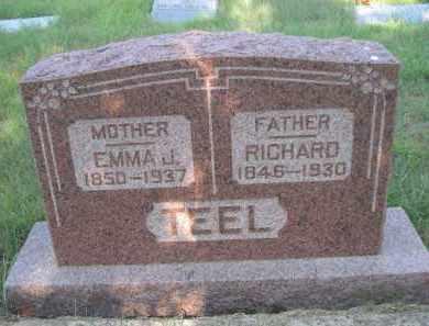 TEEL, RICHARD - Cleveland County, Oklahoma   RICHARD TEEL - Oklahoma Gravestone Photos