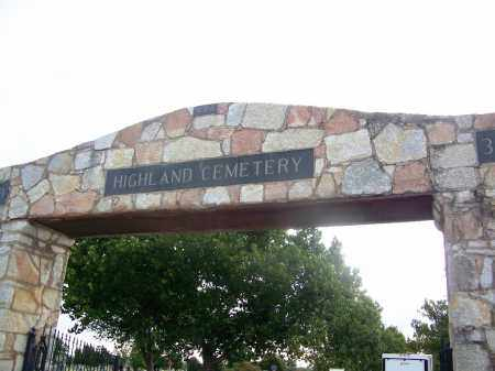 *ENTRANCE,  - Comanche County, Oklahoma |  *ENTRANCE - Oklahoma Gravestone Photos