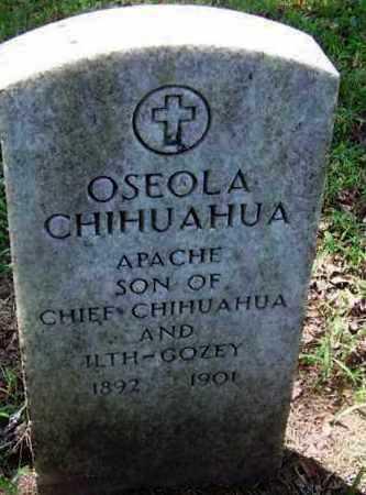 CHIHUAHUA, OSCEOLA - Comanche County, Oklahoma | OSCEOLA CHIHUAHUA - Oklahoma Gravestone Photos