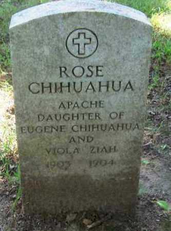 CHIHUAHUA, ROSE - Comanche County, Oklahoma | ROSE CHIHUAHUA - Oklahoma Gravestone Photos