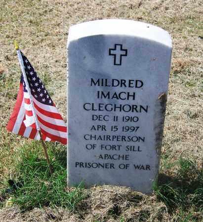 CLEGHORN, MILDRED IMACH - Comanche County, Oklahoma   MILDRED IMACH CLEGHORN - Oklahoma Gravestone Photos