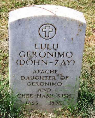 GERONIMO, LULU - Comanche County, Oklahoma | LULU GERONIMO - Oklahoma Gravestone Photos
