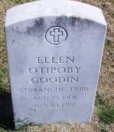 OTIPOBY GOODIN, ELLEN - Comanche County, Oklahoma   ELLEN OTIPOBY GOODIN - Oklahoma Gravestone Photos