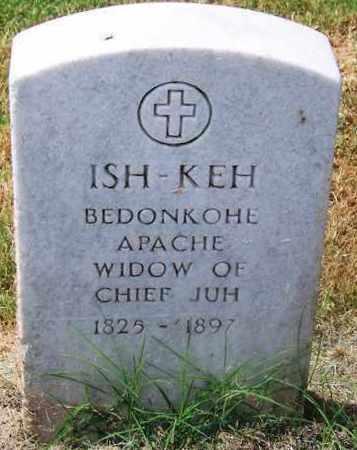 ISH-KEH,  - Comanche County, Oklahoma    ISH-KEH - Oklahoma Gravestone Photos