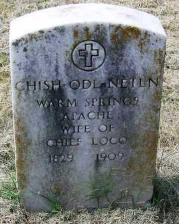 LOCO, CHISH-ODL-NETLN - Comanche County, Oklahoma | CHISH-ODL-NETLN LOCO - Oklahoma Gravestone Photos