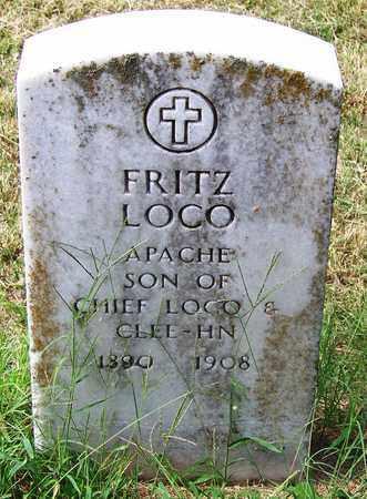 LOCO, FRITZ - Comanche County, Oklahoma | FRITZ LOCO - Oklahoma Gravestone Photos