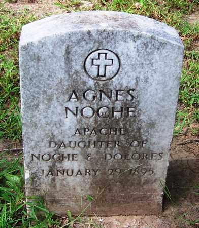 NOCHE, AGNES - Comanche County, Oklahoma   AGNES NOCHE - Oklahoma Gravestone Photos
