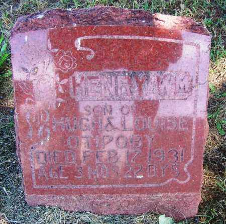 OTIPOBY, HENRY WILLIAM - Comanche County, Oklahoma | HENRY WILLIAM OTIPOBY - Oklahoma Gravestone Photos