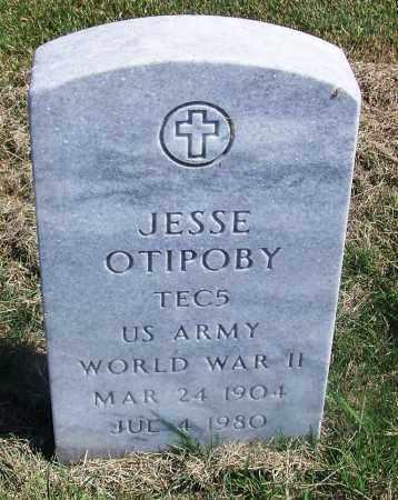 OTIPOBY, JESSE - Comanche County, Oklahoma | JESSE OTIPOBY - Oklahoma Gravestone Photos