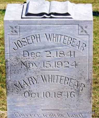 WHITEBEAR, MARY - Comanche County, Oklahoma   MARY WHITEBEAR - Oklahoma Gravestone Photos