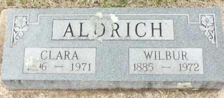 ALDRICH, WILBUR - Craig County, Oklahoma | WILBUR ALDRICH - Oklahoma Gravestone Photos