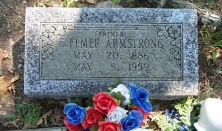 ARMSTRONG, C ELMER - Craig County, Oklahoma | C ELMER ARMSTRONG - Oklahoma Gravestone Photos