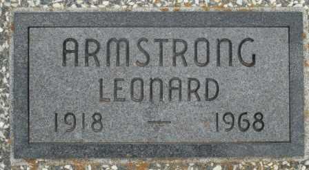 ARMSTRONG, LEONARD - Craig County, Oklahoma | LEONARD ARMSTRONG - Oklahoma Gravestone Photos