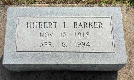 BARKER, HUBERT L - Craig County, Oklahoma | HUBERT L BARKER - Oklahoma Gravestone Photos
