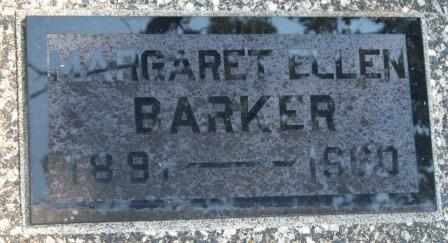 BARKER, MARGARET ELLEN - Craig County, Oklahoma | MARGARET ELLEN BARKER - Oklahoma Gravestone Photos