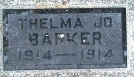 BARKER, THELMA JO - Craig County, Oklahoma | THELMA JO BARKER - Oklahoma Gravestone Photos