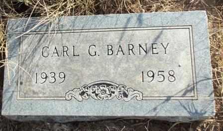 BARNEY, CARL GLENN - Craig County, Oklahoma | CARL GLENN BARNEY - Oklahoma Gravestone Photos